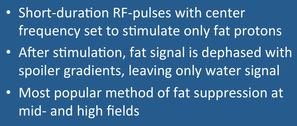 CHESS/Fat-Sat Pulses