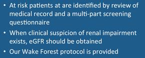 gadolinium protocol